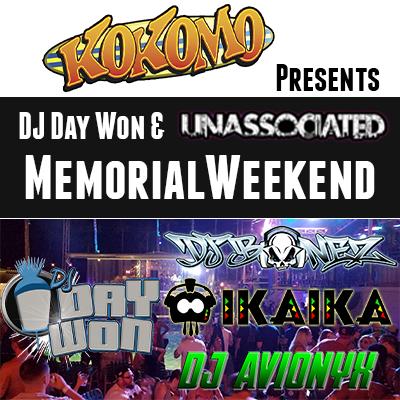 DJ Day Won and Unassociated Las Vegas Takeover